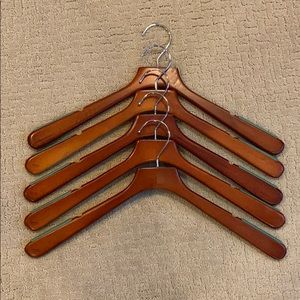 Micheal Graves wood shirt hanger collection